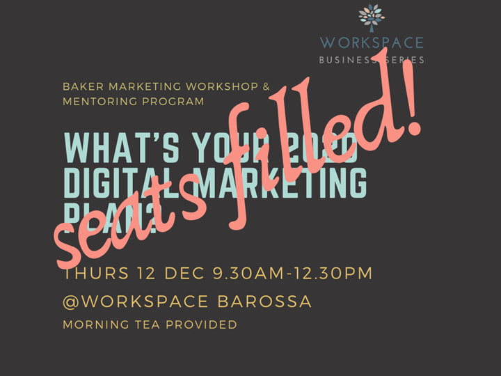 DEC Baker Marketing Workshop - Your 2020 Digital Marketing Plan